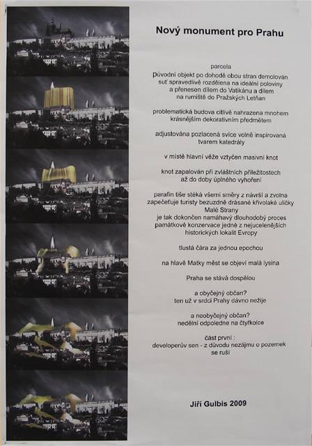 3) Vítězný projekt Jiřího Gulbise