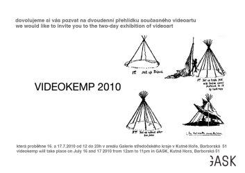 6) Pozvánka na Videokemp 2010