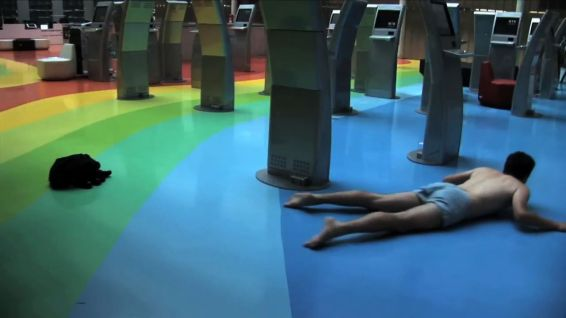 Petr Krátký : Plavání, 2010, video, cca 1 min