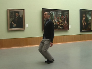 Petr Krátký : No Title, Muzeum Boymans van Beuningen, Rotterdam, 1:45 min, 2010