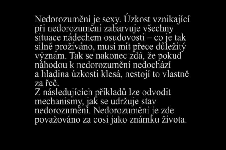 Lenka Vítková_ Snář_ video, 3,51'min_2009_1