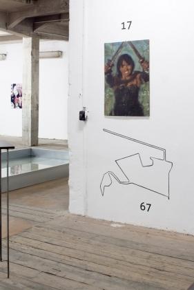 17: Vít Soukup, olej na dřevotřísce, z výstavy / série Armáda pro republiku, 2007